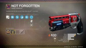 How to get not forgotten destiny 2. Recruit the job to be made for you.