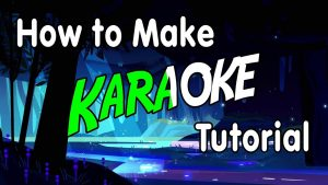 How to make a karaoke video. The best specialists work with you.