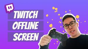 How to make an offline screen for twitch. The best Specialists working with you.