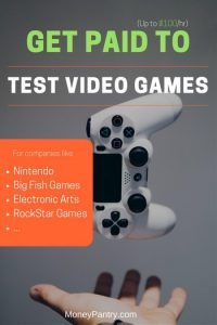 Video game tester jobs at home get paid. Hiring the work to be done for you.