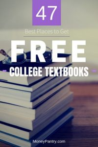 How to get free college textbooks. The best professional working with you.