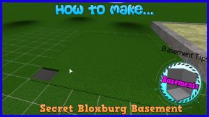 How to make a basement in bloxburg. Recruit the job to have it made for you.