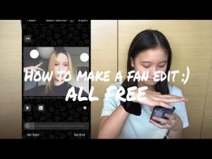 How to make a fan edit. Hires the work to have it done for you.