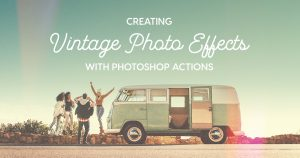 How to make a photo look vintage. Contract the job to be done for you.