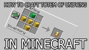 How to make a totem of undying in minecraft. Finest expert working with you.