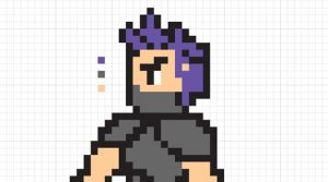 How to make an 8 bit character. Greatest specialists work for you.
