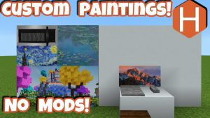 How to make custom paintings in minecraft. Hires the work to be completed for you.