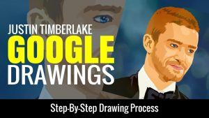 How to make google drawing portrait. Hires the work to have it completed for you.