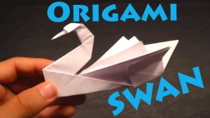 How to make paper swans. Hires the work to have it completed for you.