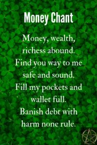 Spells to get money. Which profesional would be helpful to me?