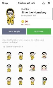 How to get japanese line stickers. How can I get help from a expert to help me?